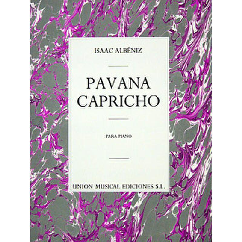 Titelbild für UMP 62730 - PAVANA CAPRICHO OP 12