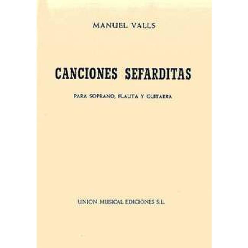 Titelbild für UMV 22029 - CANCIONES SEFARDITAS