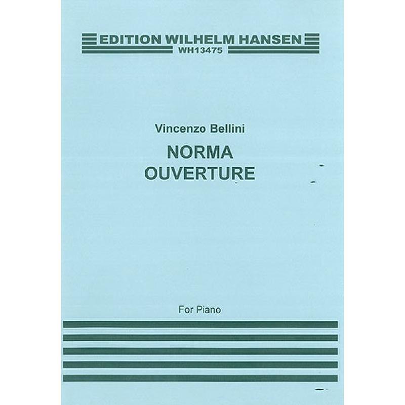 Titelbild für WH 13475 - OUVERTUERE NORMA