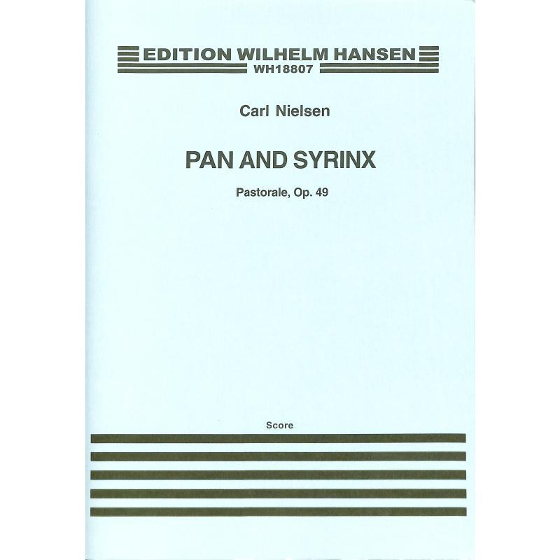 Titelbild für WH 18807 - PAN + SYRINX - PASTORALE OP 49