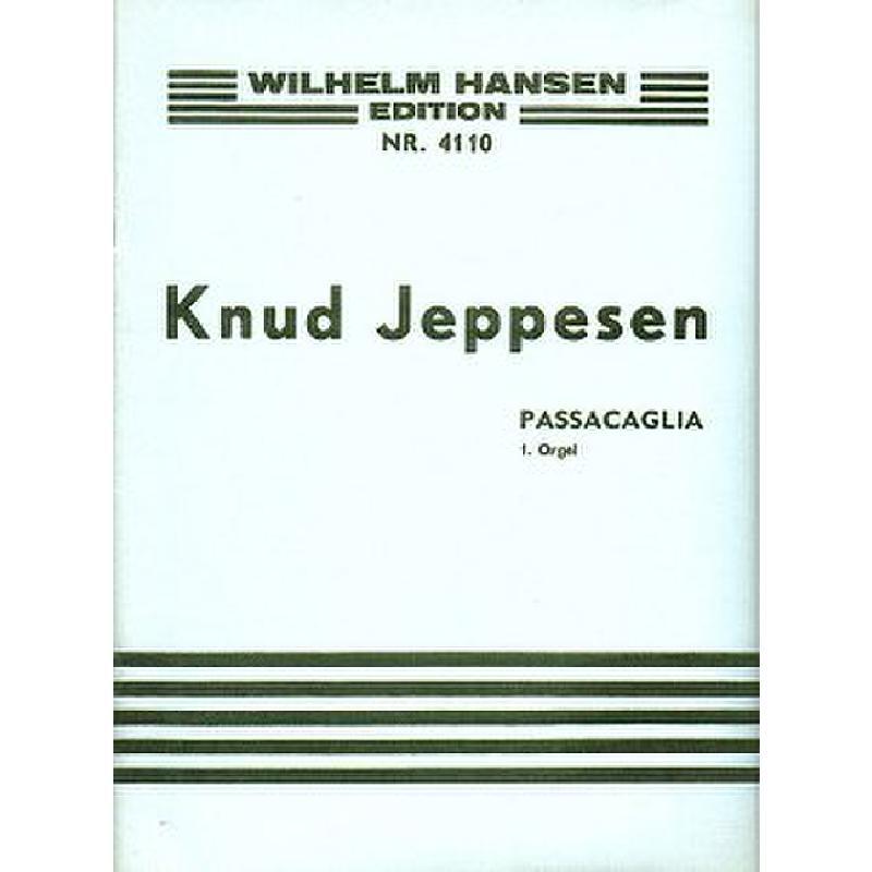 Titelbild für WH 28642 - PASSACAGLIA