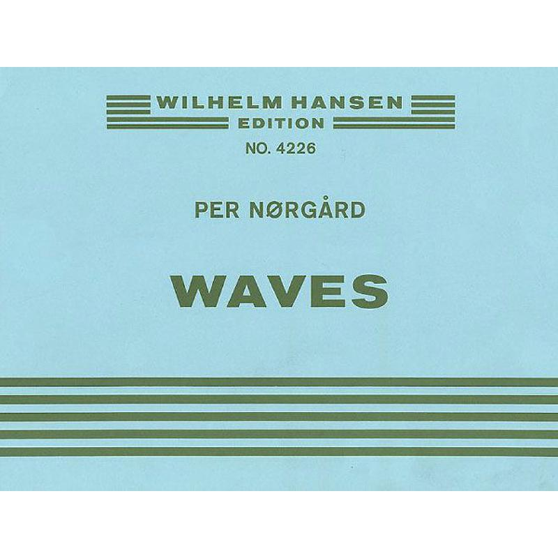 Titelbild für WH 29176 - WAVES PERCUSSION