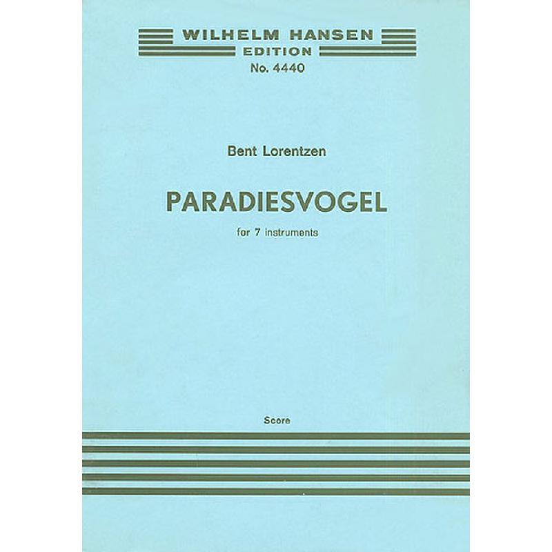Titelbild für WH 29791 - PARADIESVOGEL