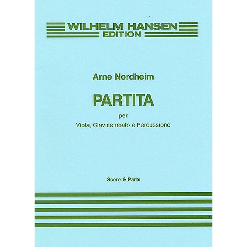 Titelbild für WH 29938 - PARTITA