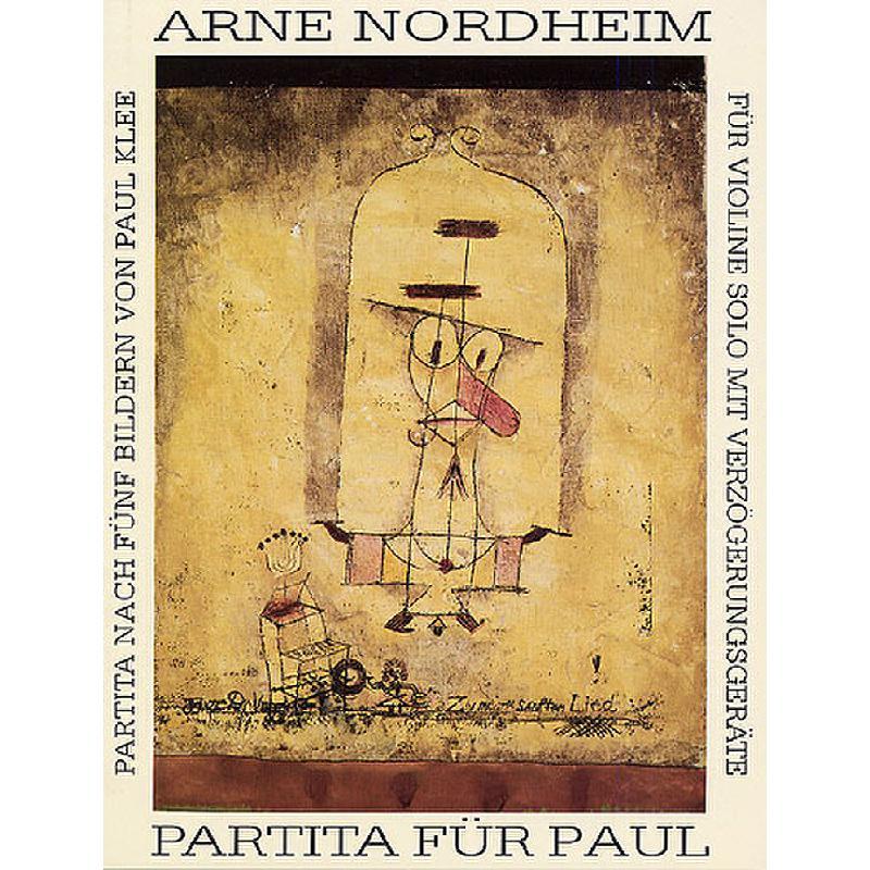 Titelbild für WH 30191 - PARTITA FUER PAUL - NACH 5 BILDERN VON PAUL KLEE