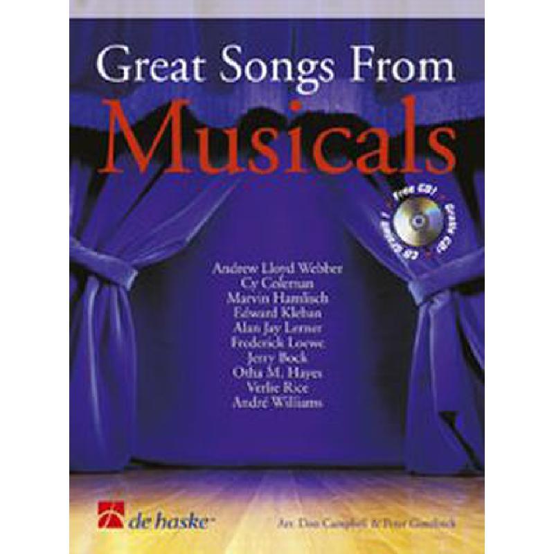 Titelbild für HASKE 1002156 - GREAT SONGS FROM MUSICALS