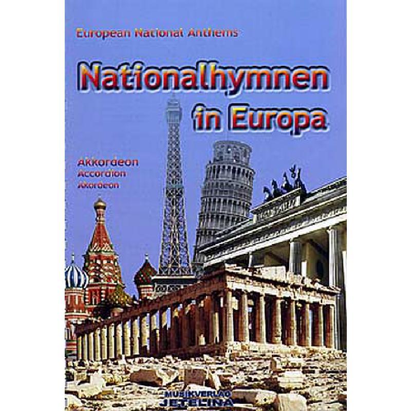 Titelbild für JETELINA 71011041 - NATIONALHYMNEN IN EUROPA