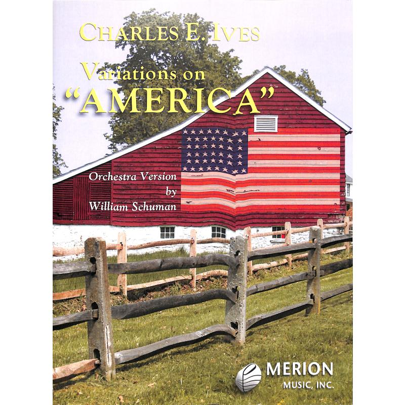 Titelbild für MERION 446-41010 - VARIATIONS ON AMERICA