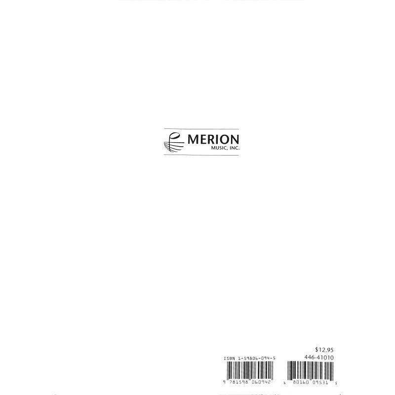 Notenbild für MERION 446-41010 - VARIATIONS ON AMERICA