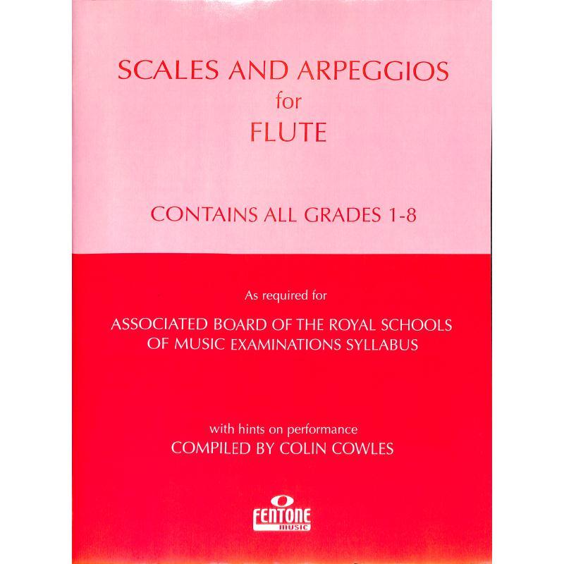 Titelbild für FENTONE 234 - SCALES + ARPEGGIOS FOR FLUTE