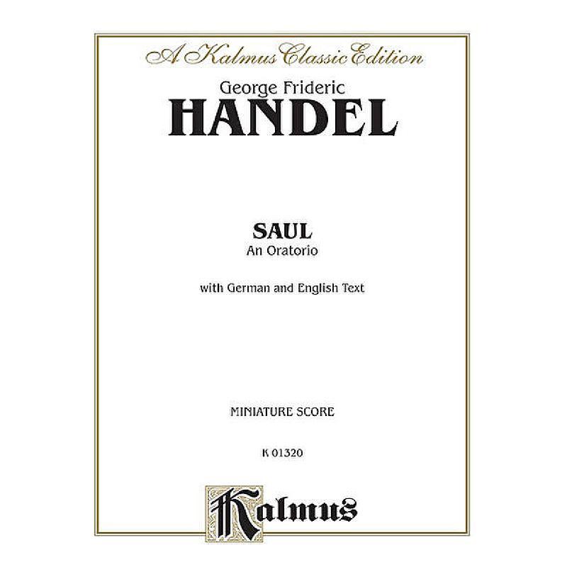 Titelbild für KALMUS 01320 - SAUL HWV 53