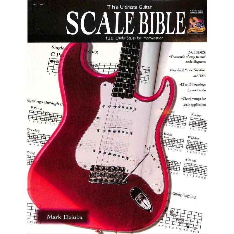 Titelbild für ALF 07-1009 - ULTIMATE GUITAR SCALE BIBLE