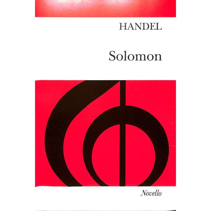 Titelbild für MSNOV 70147 - SALOMON