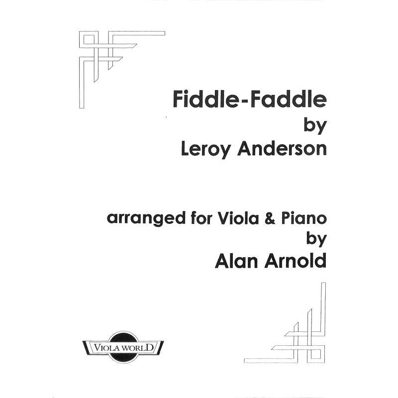 Titelbild für VWP 100210 - FIDDLE FADDLE