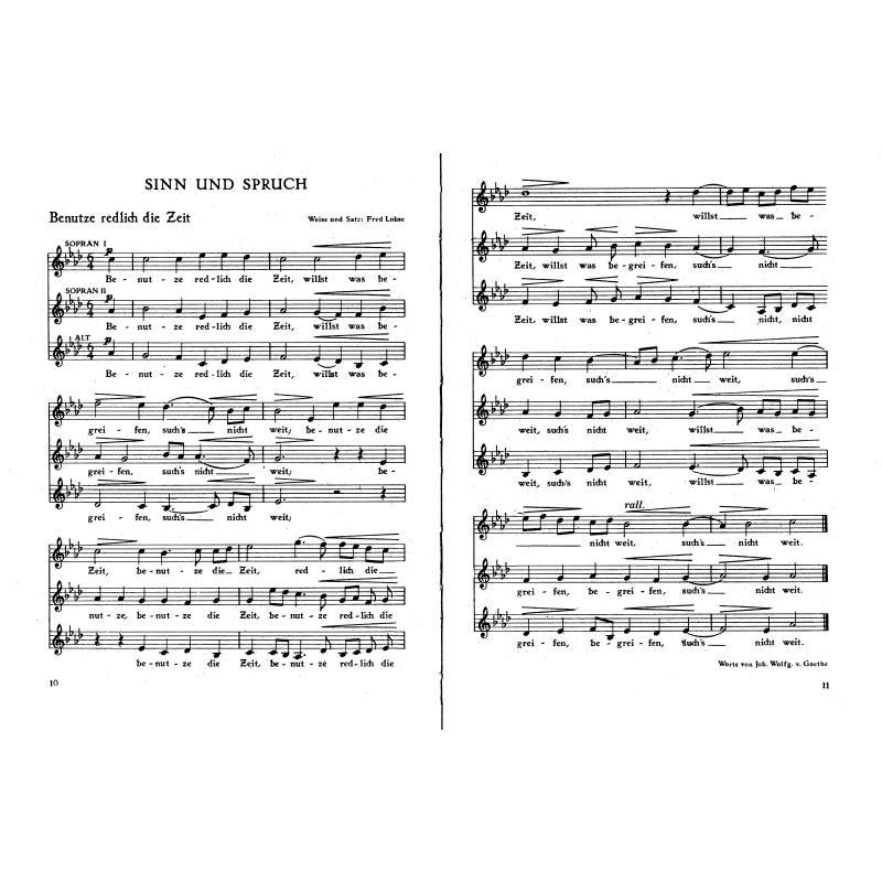 Notenbild für FH 3824 - WIR SINGEN 5 - LIEDER DER GEGENWART