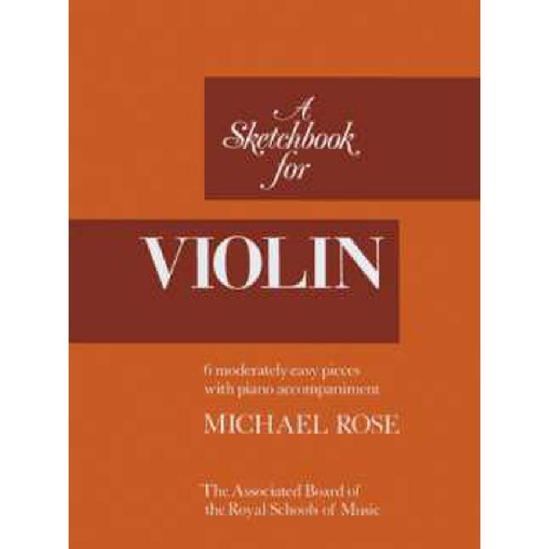 Titelbild für ABRSM 4120 - A SKETCHBOOK FOR VIOLIN