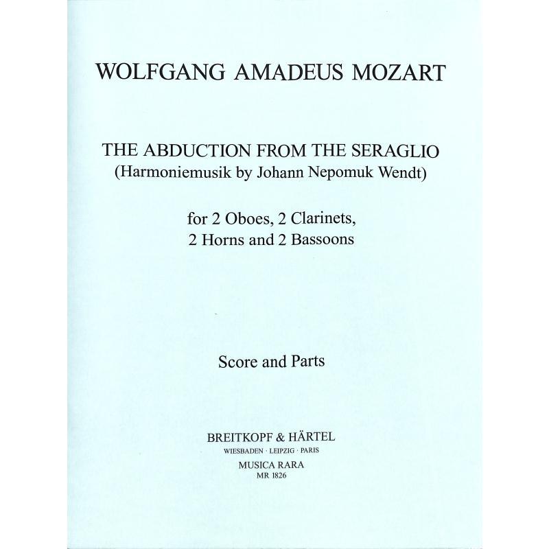 Titelbild für MR 1826 - ENTFUEHRUNG AUS DEM SERAIL KV 3