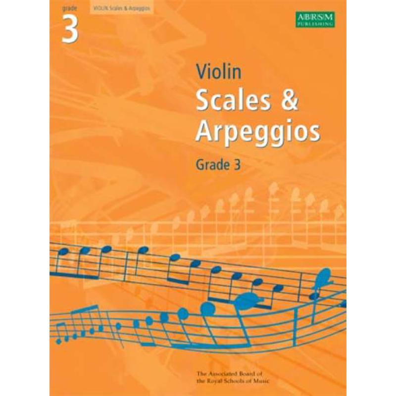 Titelbild für 978-1-84849-340-7 - Violin scales + arpeggios 3
