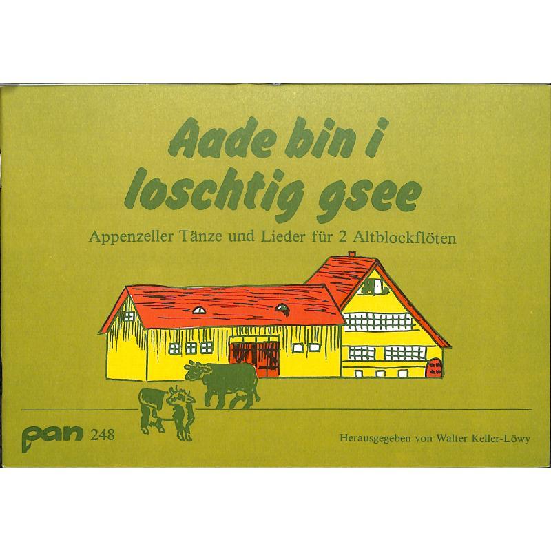 Titelbild für PAN 248 - AADE BIN I LOSCHTIG GSEE