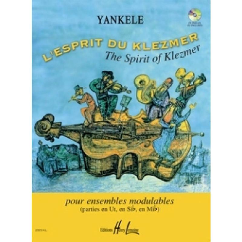 Titelbild für LEMOINE 27973 - L'ESPRIT DU KLEZMER
