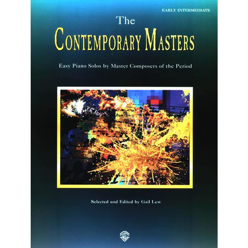 Titelbild für EL 09705 - EASY SOLOS BY THE CONTEMPORARY MASTERS