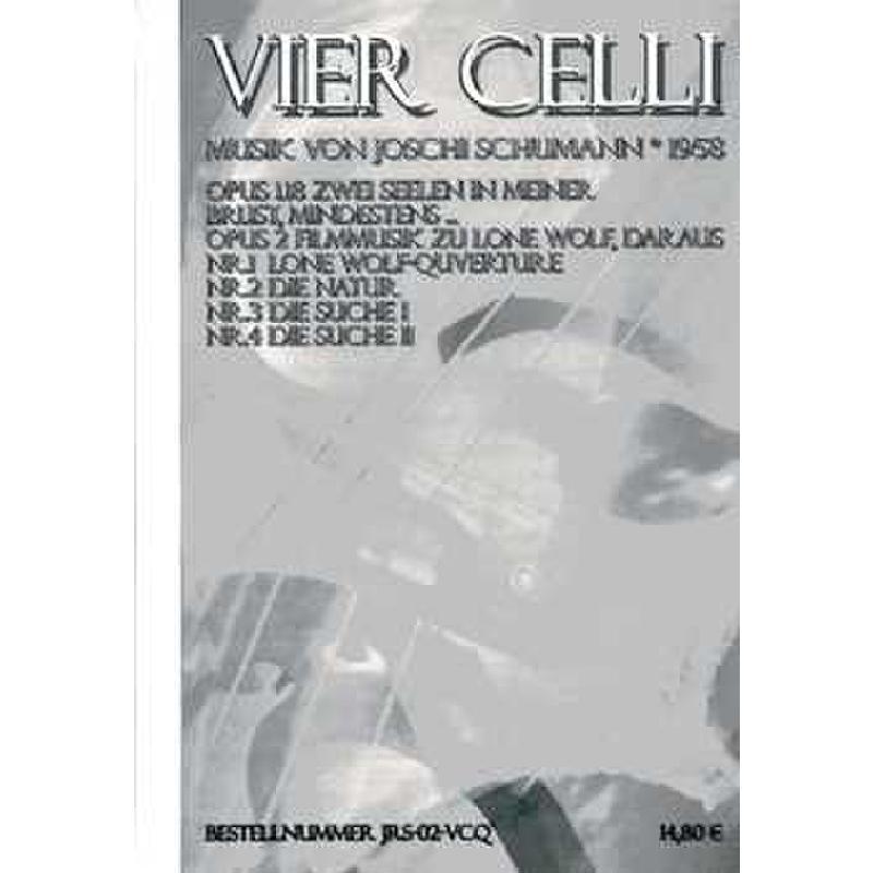 Titelbild für JRS 02-VCQ - ZWEI SEELEN IN MEINER BRUST MINDESTENS OP 1/18