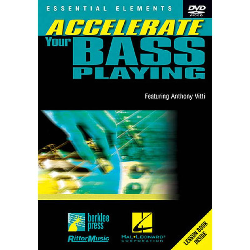 Titelbild für HL 320437 - ACCELERATE YOUR BASS PLAYING
