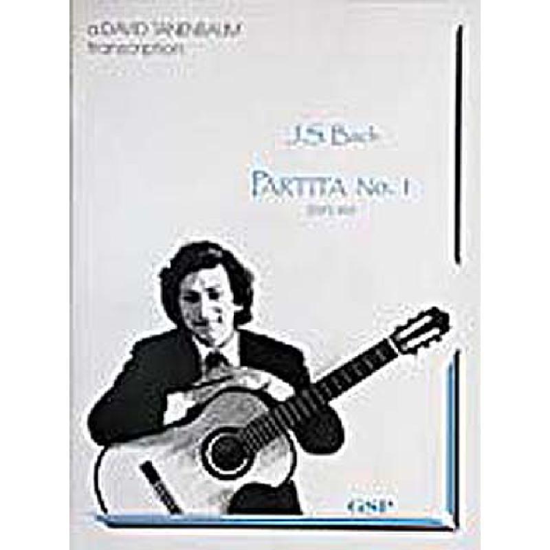 Titelbild für GSP 016 - PARTITA 1 D-DUR BWV 825 (B-DUR)