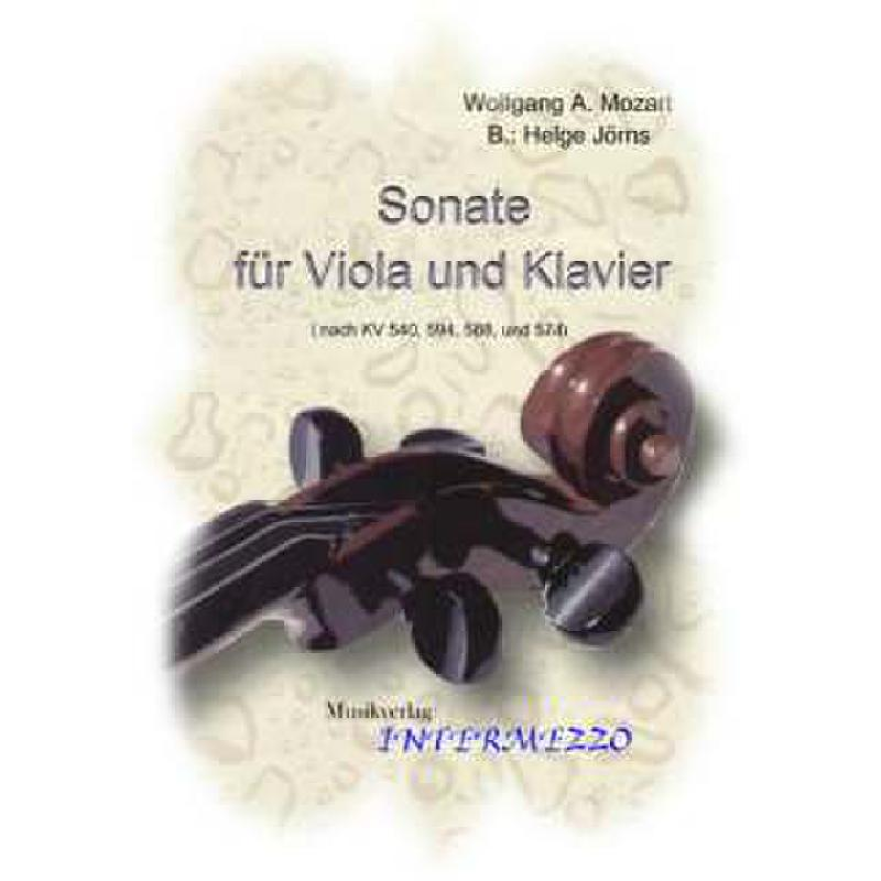 Titelbild für INTERMEZZO 097-3 - SONATE NACH KV 540 594 588 + 574