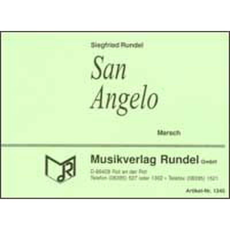 Titelbild für RUNDEL 100-BARC - SAN ANGELO MARSCH