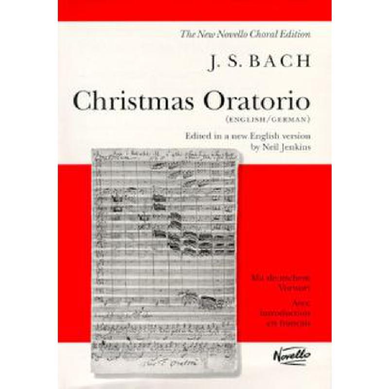 Titelbild für MSNOV 72500 - WEIHNACHTSORATORIUM BWV 248