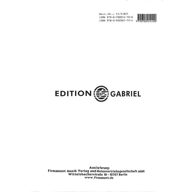 Notenbild für GABRIEL 516821 - VIOLINSCHULE 1-5 CPLT
