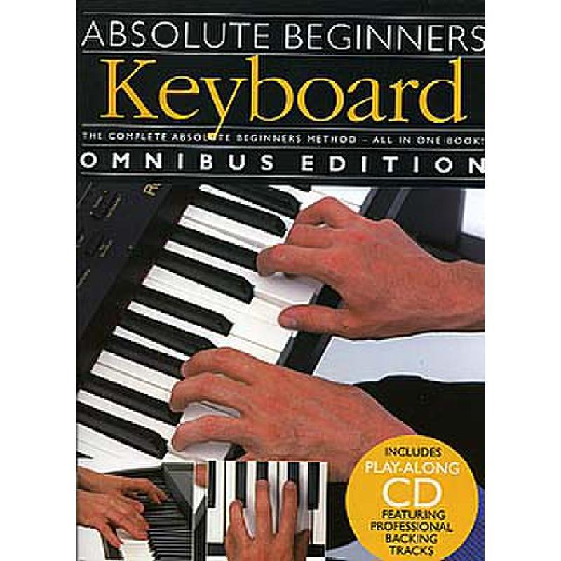 Titelbild für MSAM 976052 - ABSOLUTE BEGINNERS - KEYBOARD