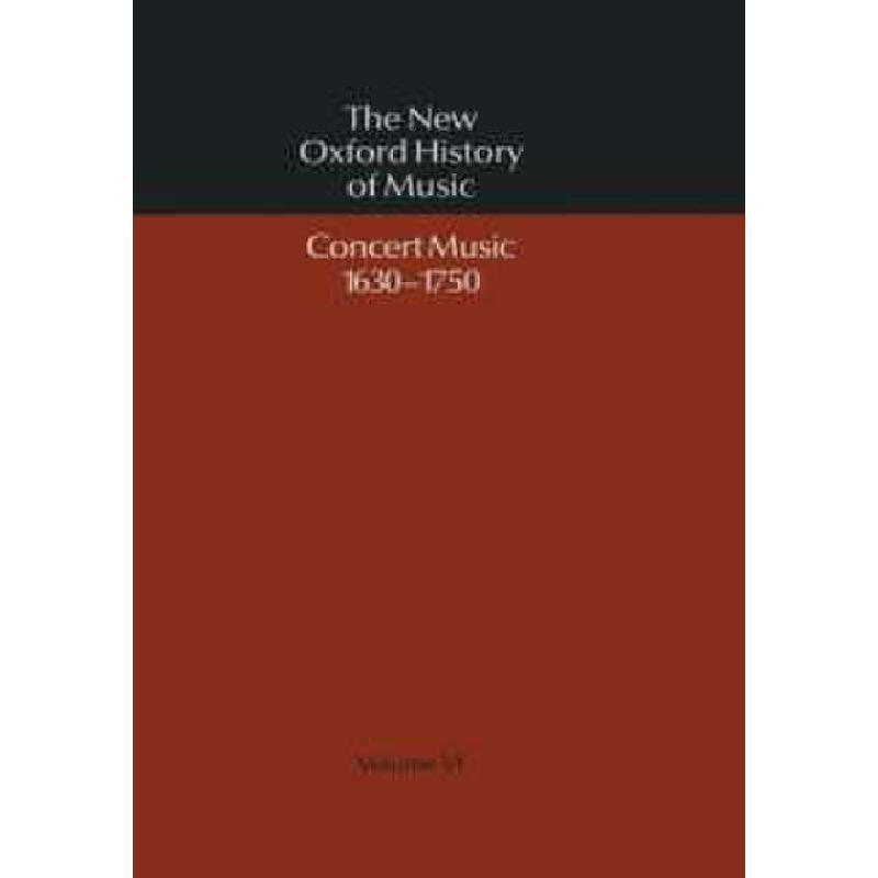 Titelbild für 978-0-19-316306-5 - THE NEW OXFORD HISTORY OF MUSIC 6