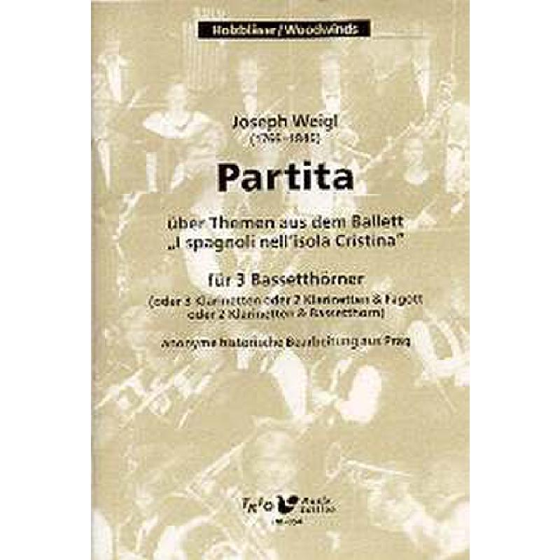 Titelbild für TRIO -HK054 - PARTITA UEBER THEMEN AUS DEM BALLETT I SPAGNOLI NELL'ISOLA