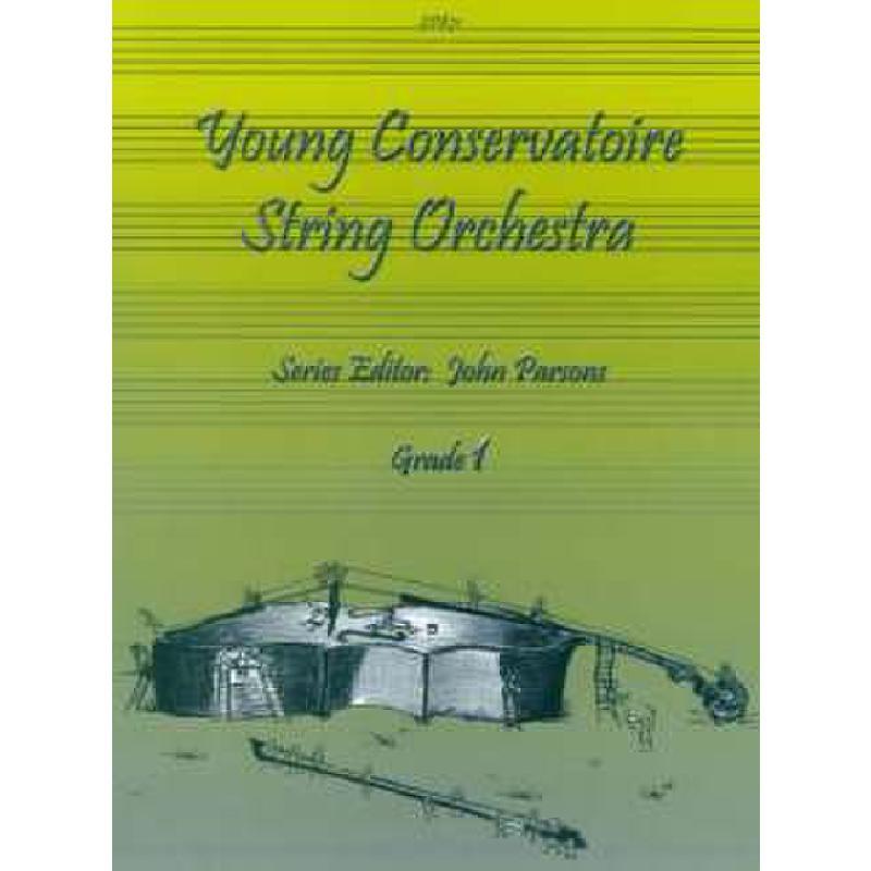 Titelbild für SPARTAN 871 - YOUNG CONSERVATOIRE STRING ORCHESTRA 1