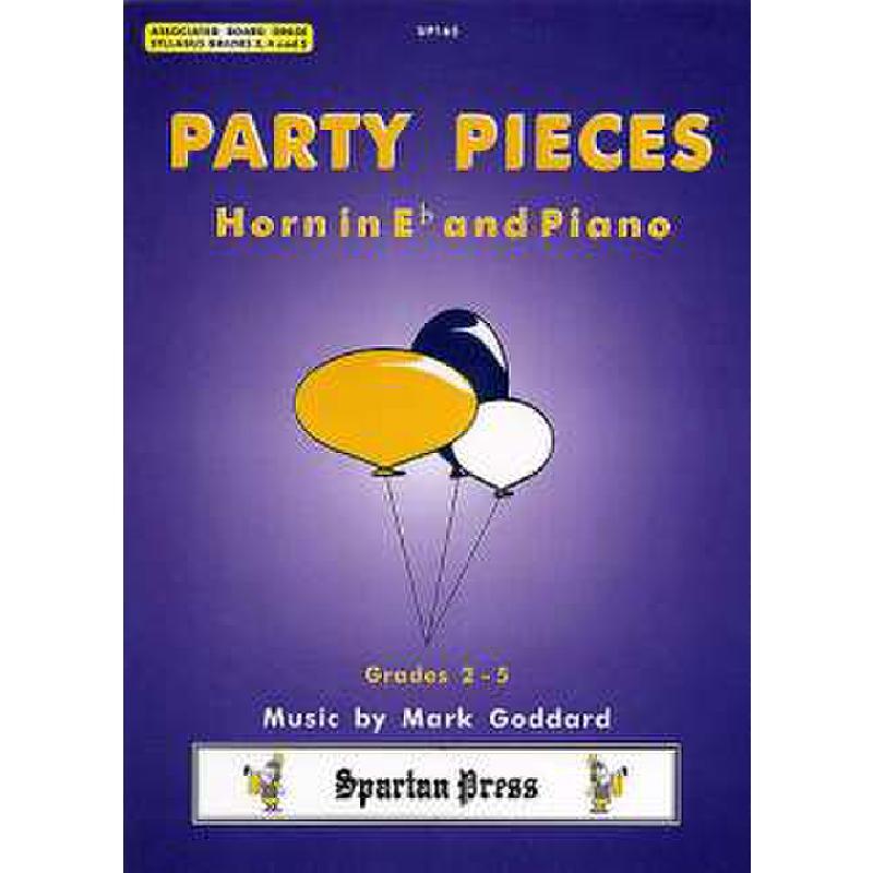 Titelbild für SPARTAN 165 - PARTY PIECES