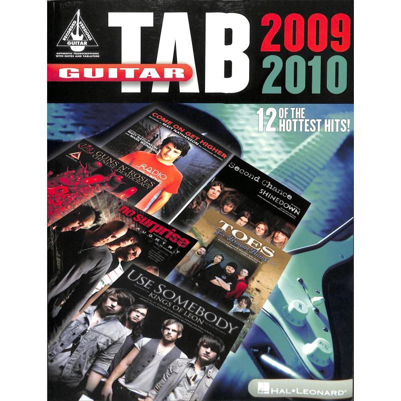 Produktinformationen zu GUITAR TAB 2009-2010 HL 691022