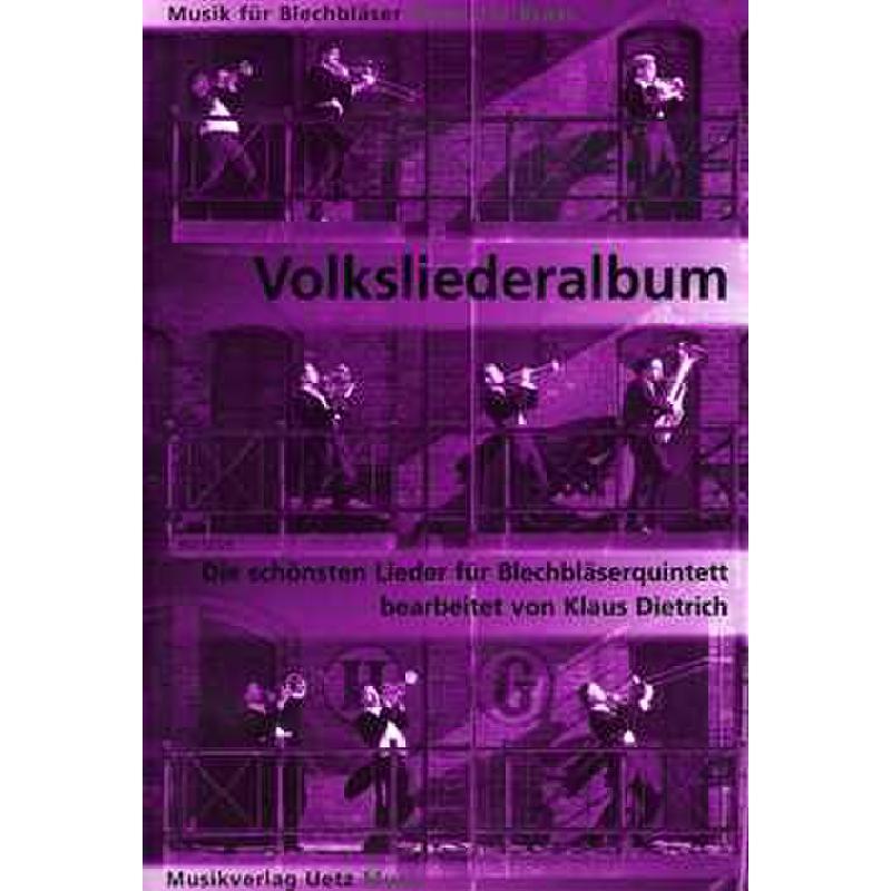 Titelbild für UETZ 5026 - VOLKSLIEDERALBUM