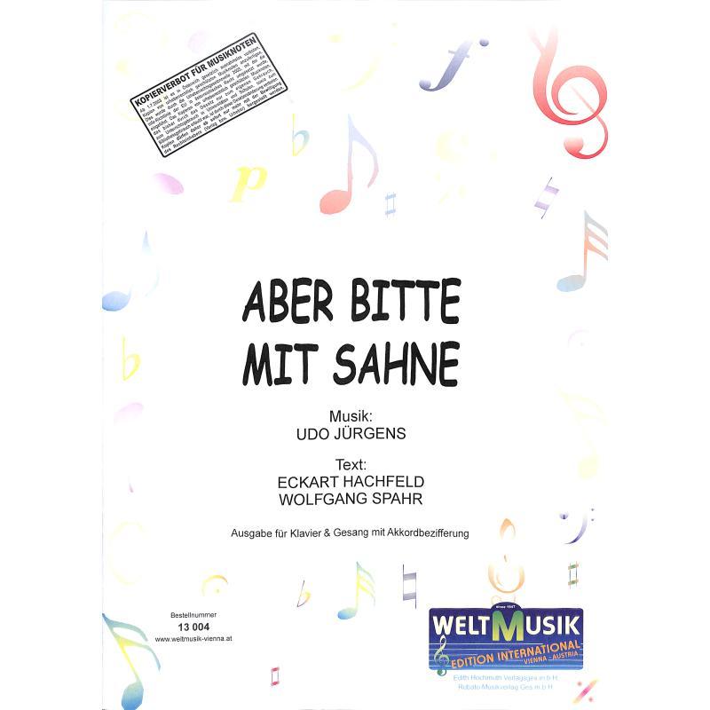 Titelbild für WM 13004 - ABER BITTE MIT SAHNE