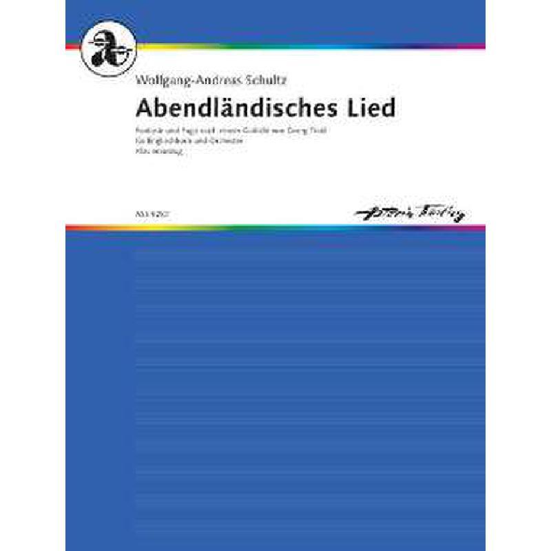 Titelbild für ASTORIA 9287 - ABENDLAENDISCHES LIED - EHRN ORCH