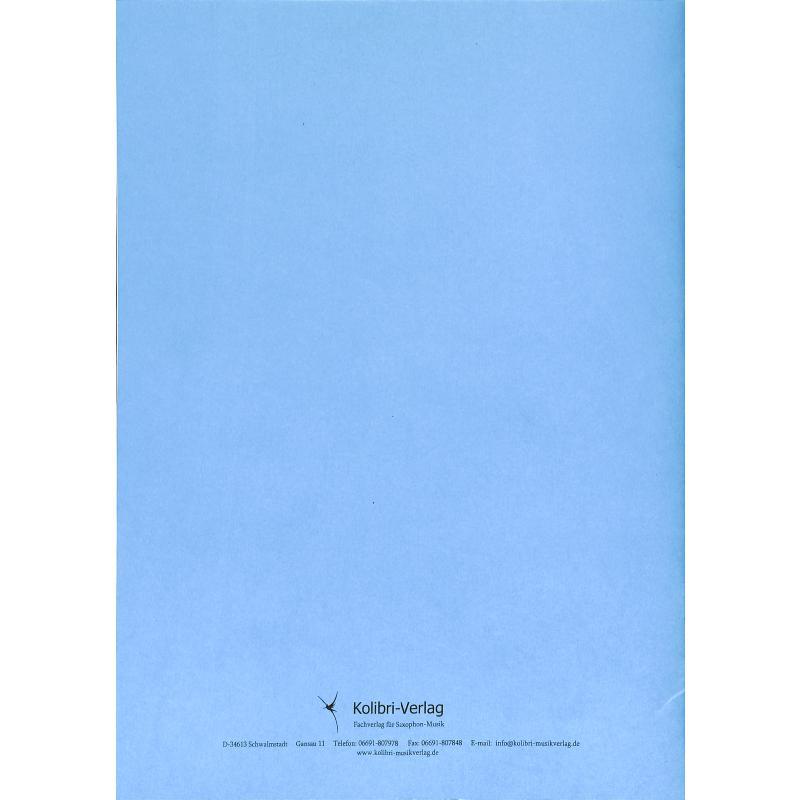 Notenbild für KOLIBRI 230141 - SAXOPHON DUETTE FUER DEN UNTERRICHT 2