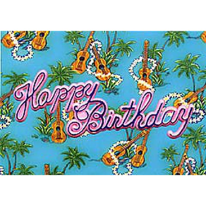 Titelbild für MOD 0209-13927 - HAPPY BIRTHDAY IN HAWAII