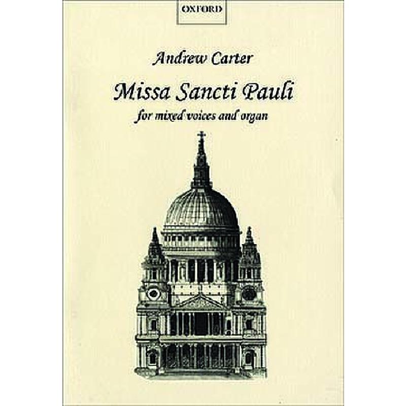 Titelbild für ISBN 0-19-335529-9 - MISSA SANCTI PAULI