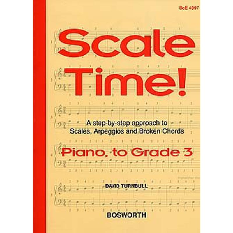 Titelbild für BOE 004997 - SCALE TIME 3