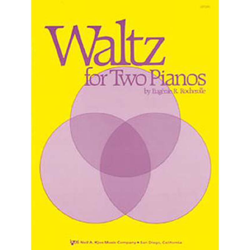 Titelbild für KJOS -GP349 - WALTZ FOR TWO PIANOS