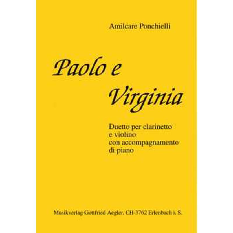 Titelbild für AEGLER 600 - PAOLO E VIRGINIA