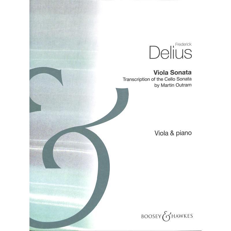 Titelbild für BH 12292 - VIOLA SONATA - TRANSCRIPTION OF THE CELLO SONATA