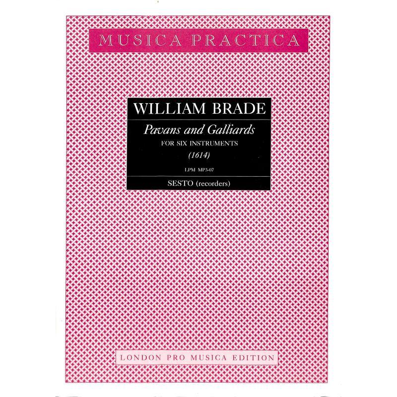 Titelbild für LPM -MP3-07 - PAVANS + GALLIARDS (1614) A 6