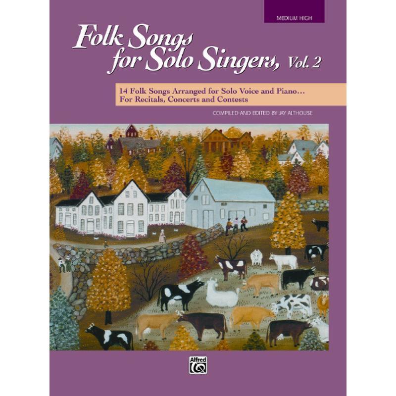 Titelbild für ALF 16300 - FOLK SONGS FOR SOLO SINGERS 2 (